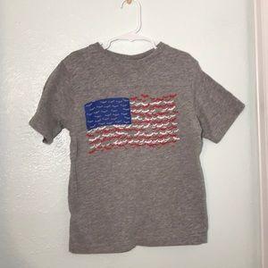 ❄️Boys Batman American Flag T-Shirt